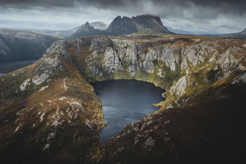 Hobart and Cradle Mountain Crater